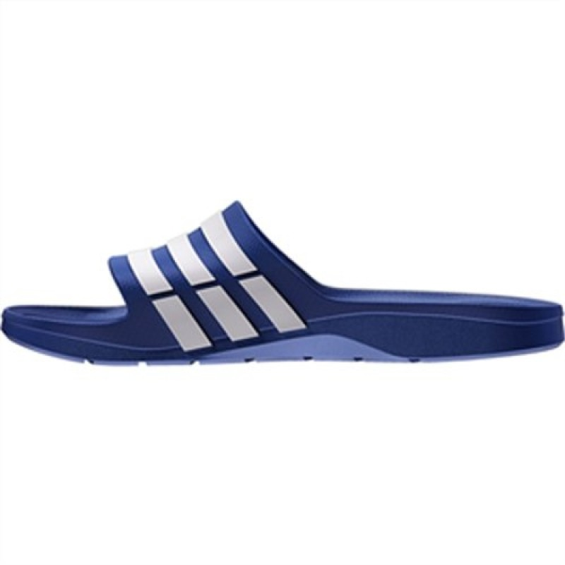 b0bee35be Adidas Men s Duramo Slide True Blue