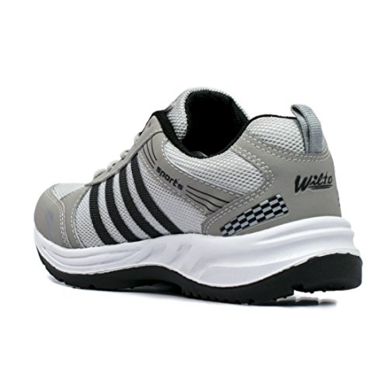 5bbce67b3 ASIAN Wonder-13 Grey Black Running Shoes for Men  Amazon.in  Shoes ...