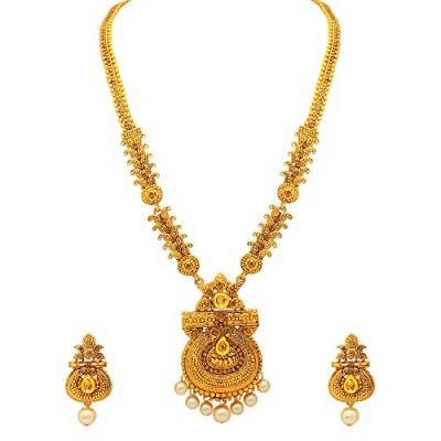 1d86092cf Atasi International Gold Plated Jewellery Set for .