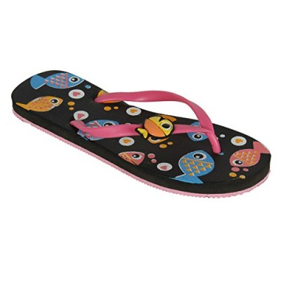 6148b1516bb BlackCoal Womens House Slipper Girls Casual Home F..