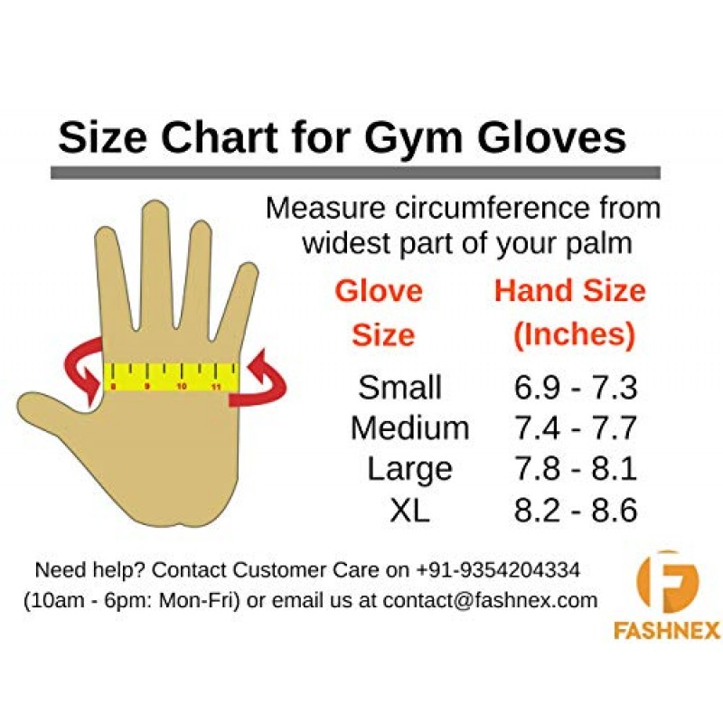 Buy Buy FASHNEX Gym Gloves for Weightlifting, Crossfit, Fitness