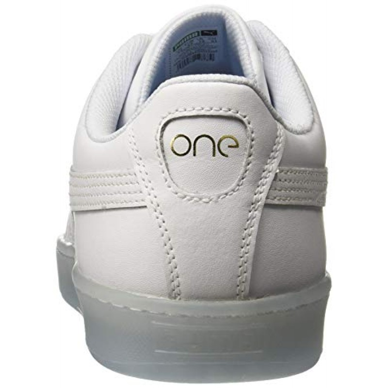huge selection of 3944c d4673 Buy Puma Unisex Basket Classic One8 White Team Gold-Bleu ...